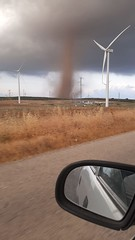 Tornado en Martín de la Jara (Sevilla)
