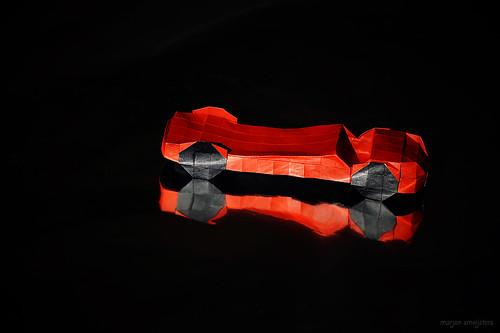 Origami Racing Car (Akira Kawamura)