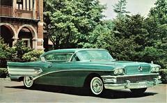 1958 Buick Super Riviera Coupe Model 56R