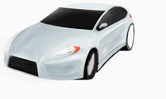 My fantasy cars/car design drawing