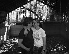 Love. Mamiya 7ii / Ilford HP5