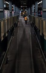Subway Closure Night 2 - Coney Island Terminal