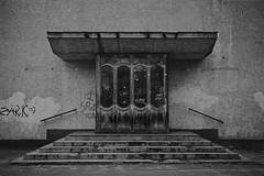 Черный ход / Back entrance