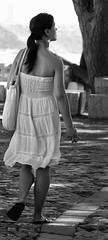 Girl Sightseeing in Lisbon