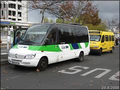Mercedes-Benz Sprinter – Voyages Quérard (Groupe Fast, Financière Atlantique de Services et de Transports) / Lila (Lignes Intérieures de Loire-Atlantique)