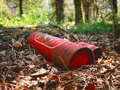 Garbage in the forest! May 7, 2020 - Schleswig-Holstein - Germany
