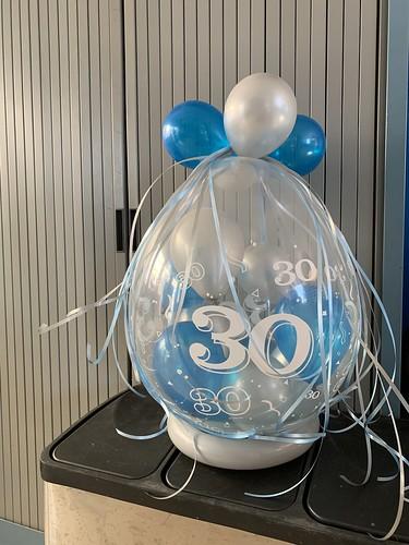 Kadoballon Verjaardag 30 Jaar