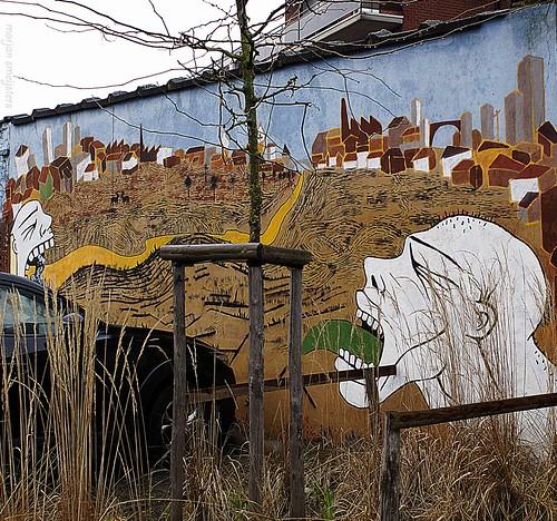 Streetart Ghent, Belgium