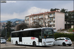 Iveco Bus Crossway – Les Courriers Rhodaniens (adhérent au réseau Réunir) / Babuscolaire n°871