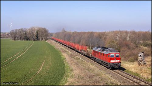 25 maart 2020 - DB Cargo 232 117 - Domnitz