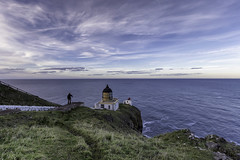 St Abb's Head Lighthouse. Eyemouth - United Kingdom