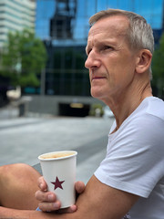 Coffee moment @Pret