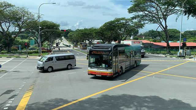 SMRT Buses - MAN NL323F A22 (Batch 3) SMB1565R on Service 171