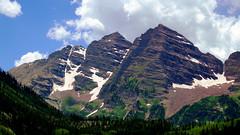 maroon bells near Aspen, CO