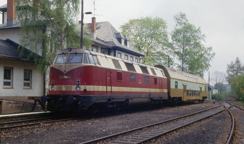 Eastern Germany in May 1994