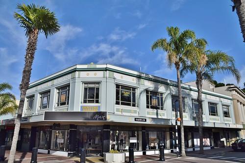 Napier Building, Art Deco Walk, Napier, New Zealand