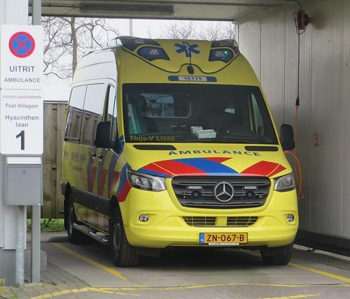 Ambulance   16-179 / ZN-067-B   RAV Hollands Midden