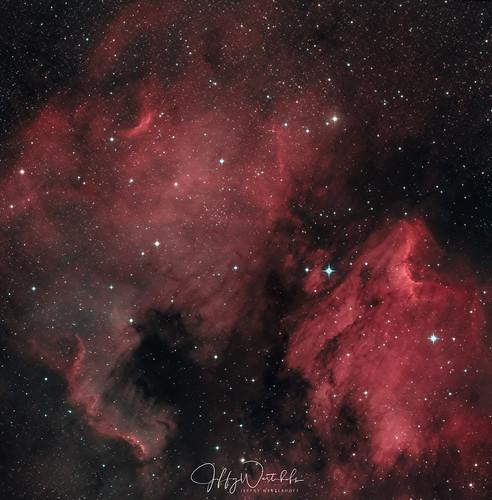 IC5070 en NGC7000