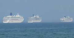 3 Cruise Ships
