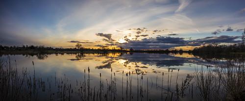 Sunset at the Main Lake
