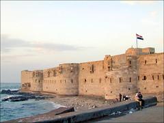 Le fort Quaitbay à Alexandrie (Égypte)