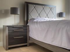 Bed & Nightstand