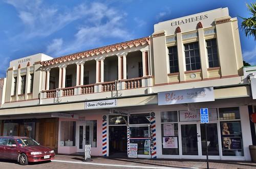 Colenso House, Art Deco Walk, Napier, New Zealand