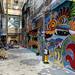 Hong Kong Alley Art - Dragon