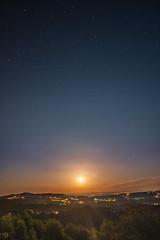 Full Moon rise over Bela krajina