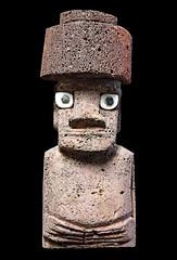 Chile-07971 - Souvenir Moai