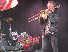 Trombone Serenade to the Roses