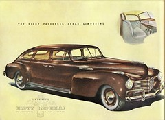 1940 Chrysler Crown Imperial Eight Passenger Sedan Limousine