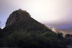 FR11 5780 le Château de Montségur. Ariège.