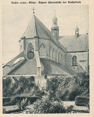 Oliwa Gothic cathedral in Gdansk 1927