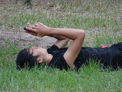 Break in the Grass