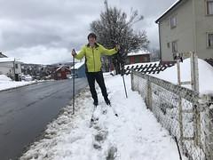 På ski til barnehagen 11. mai (!)