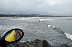 Surfers at Doheny Beach