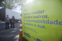 (2020.05.11) Cabine de Desinfecção, Praça Carlos de Castro