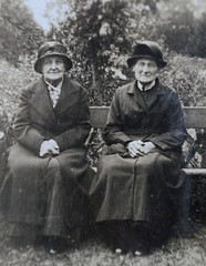 Emma Gell Forster 1860 - 1949 and Anne Udale  1846 - 1949