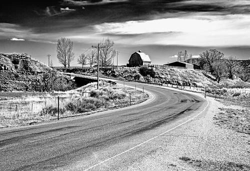 Corner on Washakie County Road 42