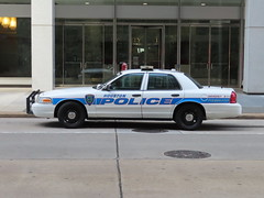 Houston Police Department Ford Crown Victoria