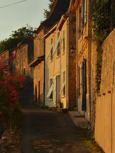 Street in Couze-et-Saint-Front, Dordogne