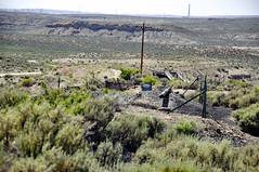 Cowboy Dike (gilsonite dike in the Uinta Formation, Middle Eocene; north of Bonanza, Utah, USA) 9