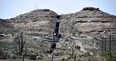 Independent Dike (gilsonite dike in the Uinta Formation, Middle Eocene; Bonanza, Utah, USA) 10