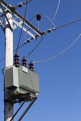 Sewage Works Electricity Pole