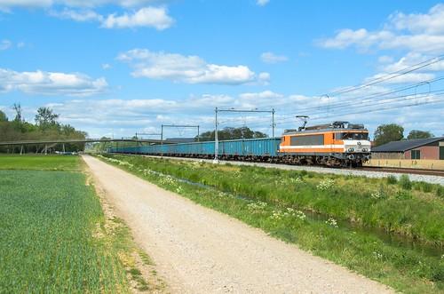 Rail Force One 1828, Elst