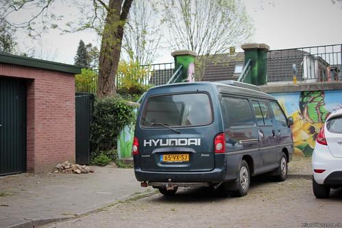 Hyundai H100 2.5D camper 2001 (65-VX-SJ)