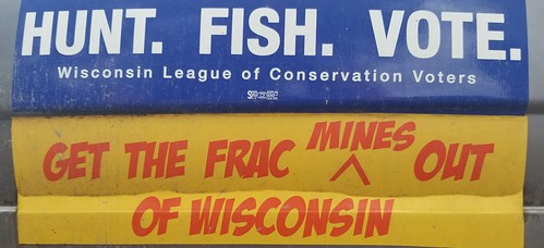 TAuch_Cultural-AntiFracSand_BumperSticker_MineNeighbor_MODonahue-HiCrush_Proppants-Augusta_EauClaireCounty_WI_Sept2018