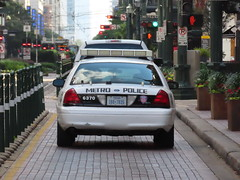 Houston Metro Police Ford Crown Victoria