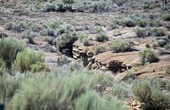 Cowboy Dike (gilsonite dike in the Uinta Formation, Middle Eocene; north of Bonanza, Utah, USA) 8